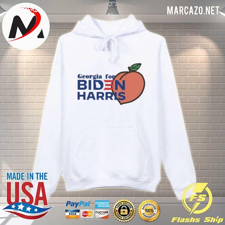 Awesome georgia for biden harris peach s Hoodie