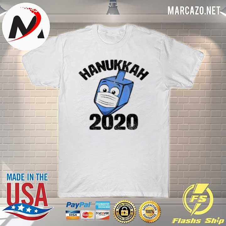 Funny Hanukkah 2020 Dreidel Wearing Face Mask Sweatshirt