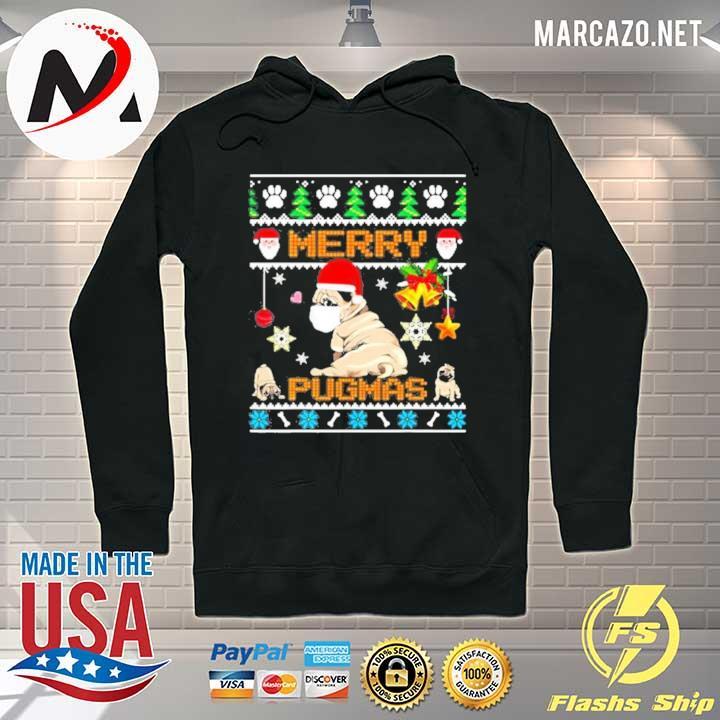 Premium merry pugmas christmas sweater Hoodie
