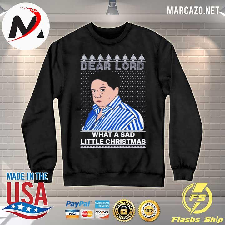 Premium peter marsh dear lord what a sad little christmas sweater Sweater