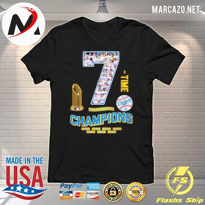 2020 7 time world series champion 1955 2020 s V-neck