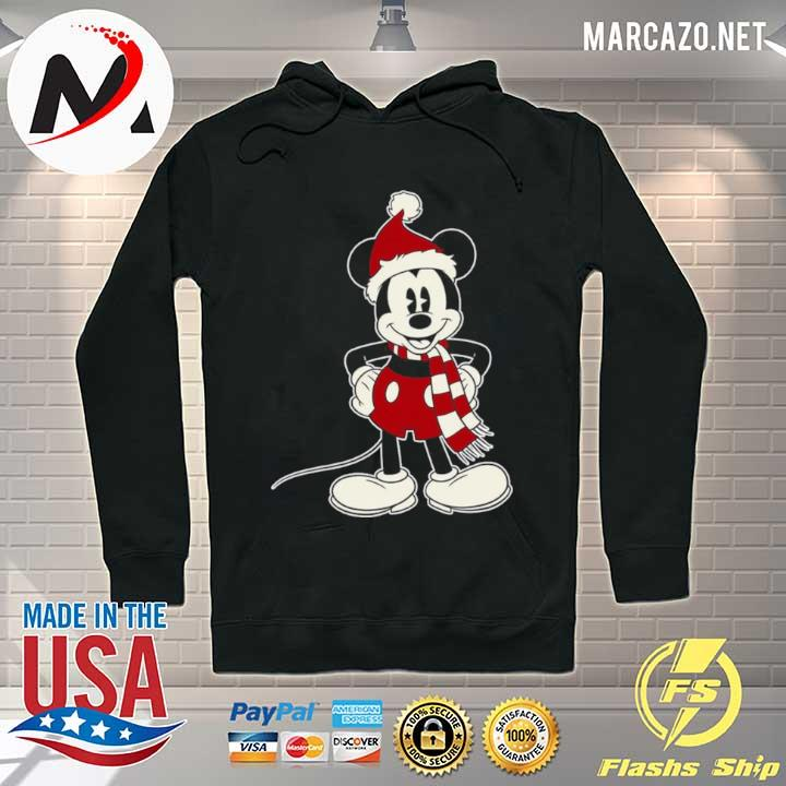 Mickey Mouse Santa Hat Merry Christmas s Hoodie