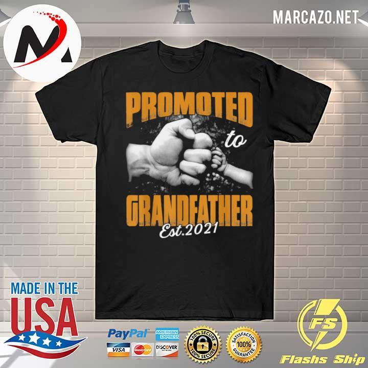 Promoted Grandfather 2021 Valentine shirt