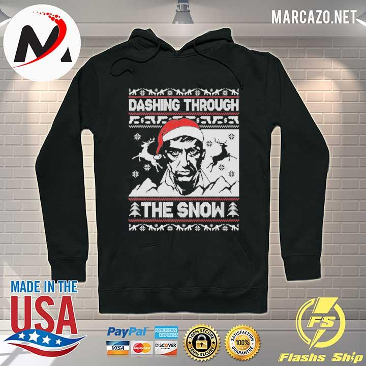 Scarface Dashing Through The Snow Christmas Xmas Ugly Sweats Hoodie
