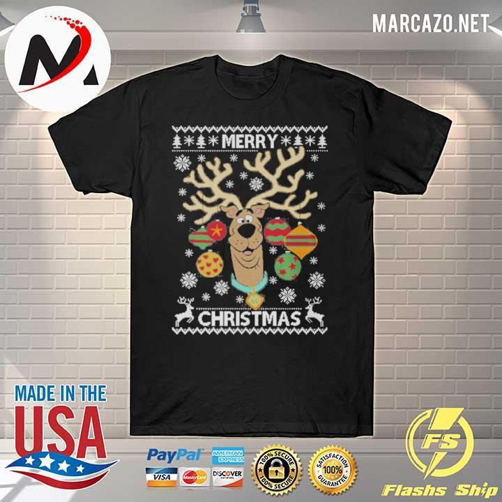 Scooby Doo Merry Christmas Xmas Ugly Sweatshirt