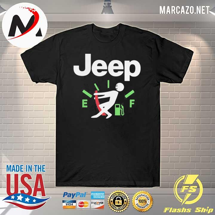 Jeep fuel gauge shirt