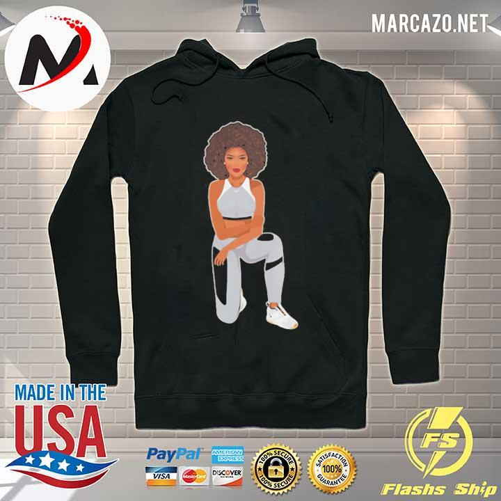 Melanin goddess take a knee were with kap s Hoodie