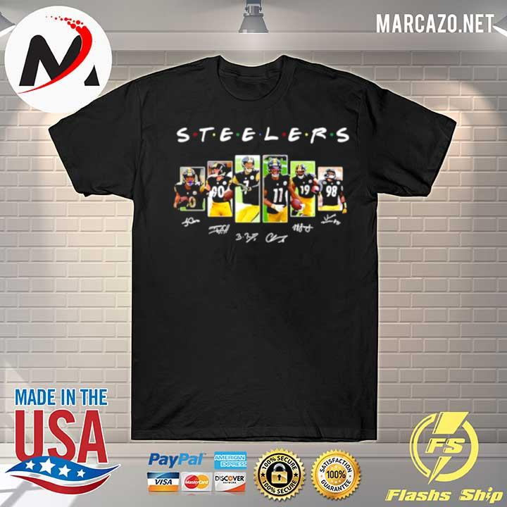 Steeler team football signature shirt